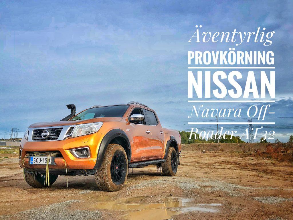 Nissan Navara AT32 Mia Litström