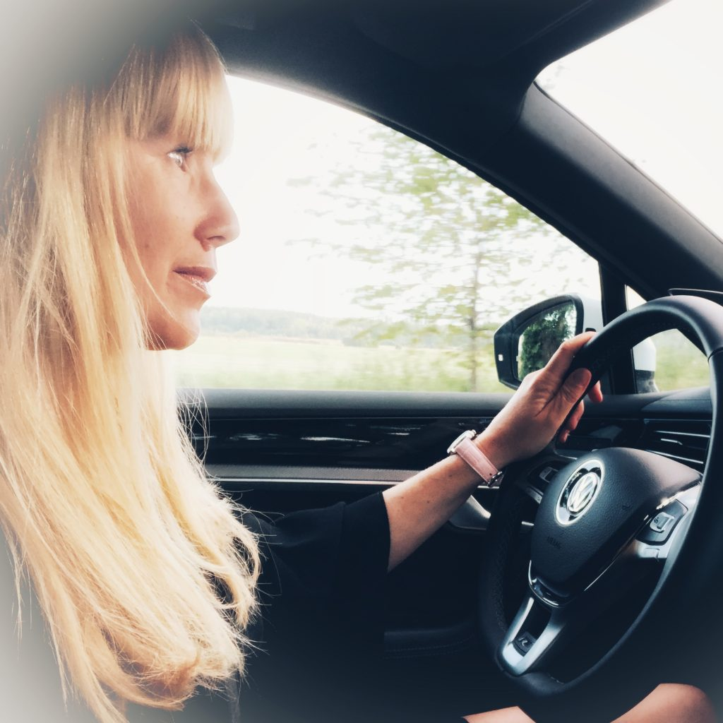 Provkörning Volkswagen Touareg Mia Litström