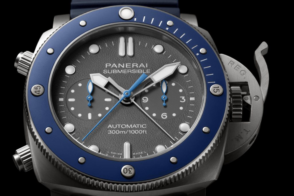 Panerai Submersible Chrono – Guillaume Néry edition PAM00982 Mia Litström