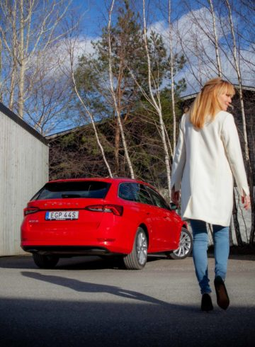 Provkörning Skoda Octavia Mia Litström Cars and Watches for Ladies