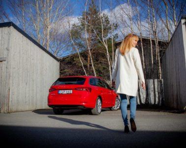 Provkörning Skoda Octavia Mia Litström Cars and Watches for Ladies