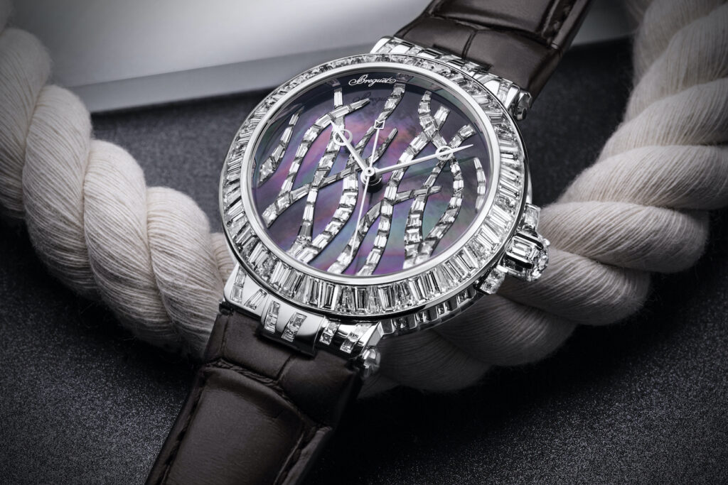 Breguet Marine Haute Joaillerie 9509BB TD 984 DD0D Cars and Watches for Ladies Mia Litström