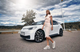 Mia Litström provkörning Volkswagen ID.3 Cars and Watches for Ladies
