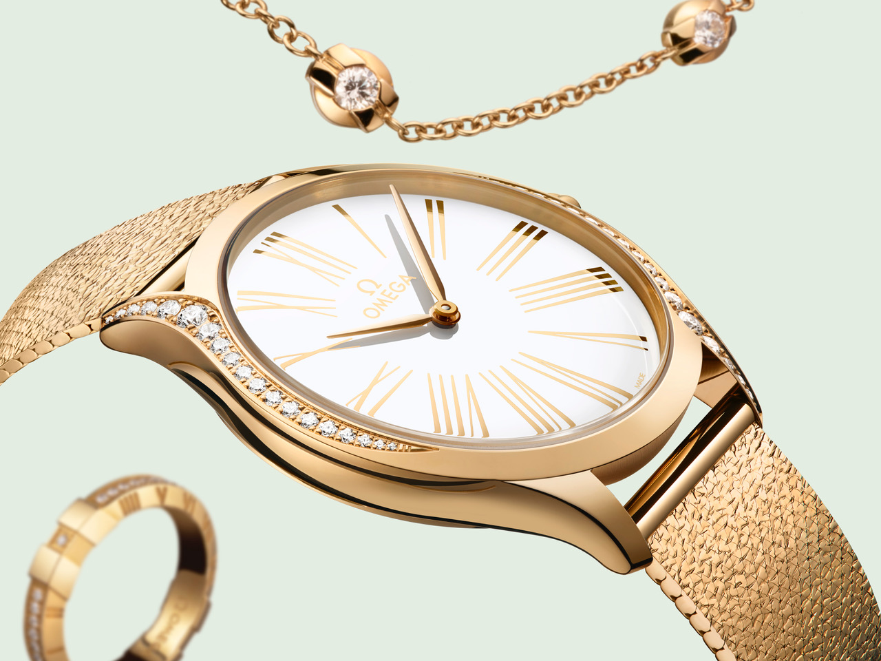 Omega Trésor Britta Rossander Cars and Watches for Ladies