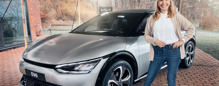 Första visning Kia EV6 Mia Litström Cars and Watches for Ladies