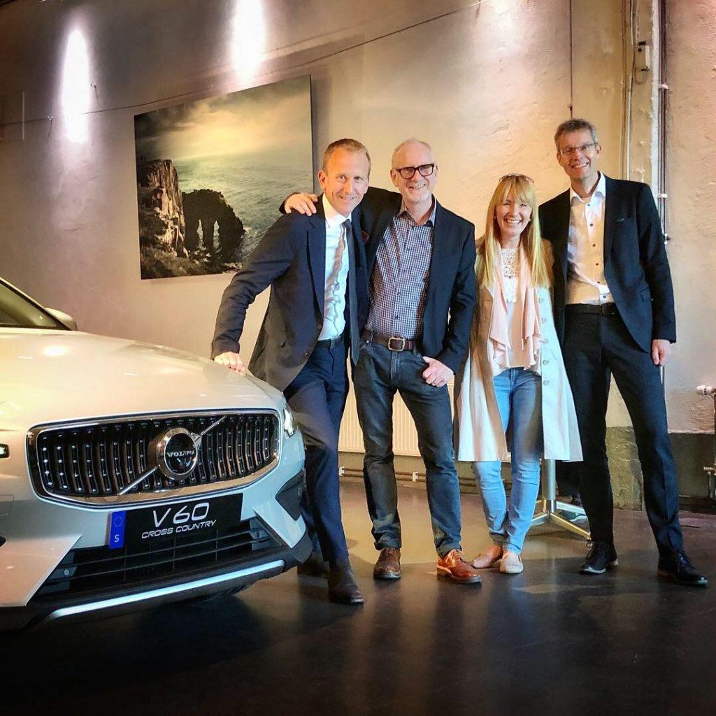 Volvo V60 Cross Country Mia Litström