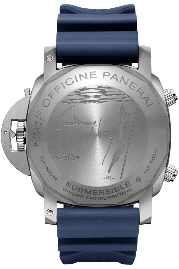 Panerai Submersible Chrono – Guillaume Néry edition PAM00982 Mia Litström