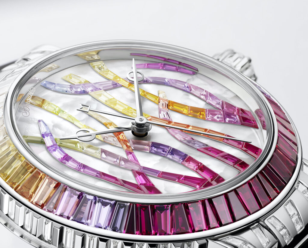 Breguet Marine Haute Joaillerie Poseidonia 9509BB5R984RD0R Cars and Watches for Ladies Mia Litström