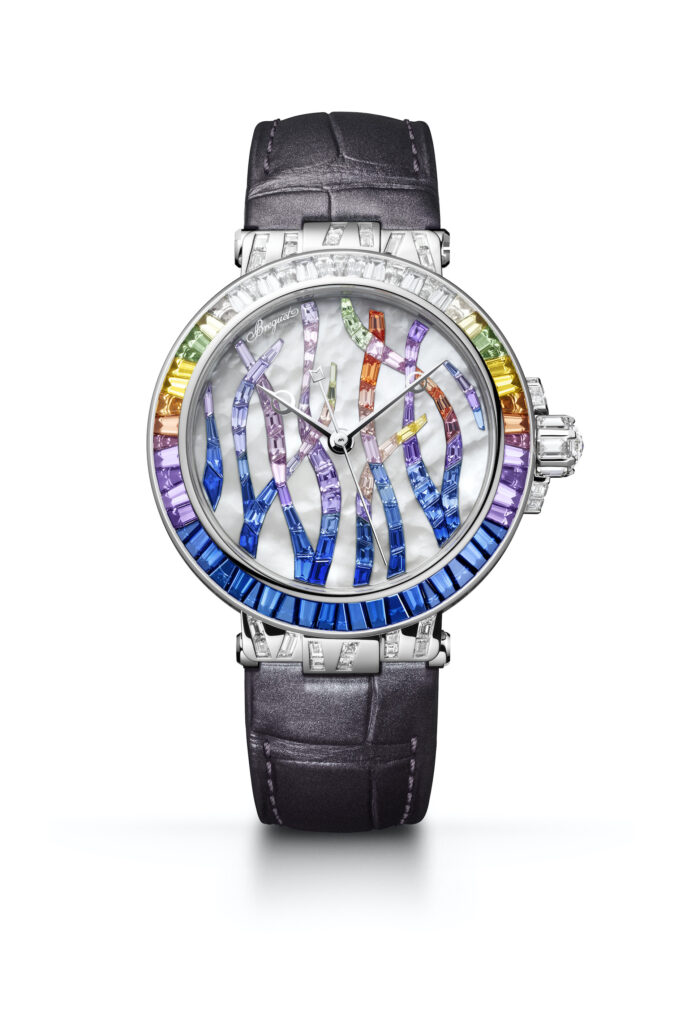 Breguet Marine Haute Joaillerie 9509 BB 5S 984 SD0S Cars and Watches for Ladies Mia Litström