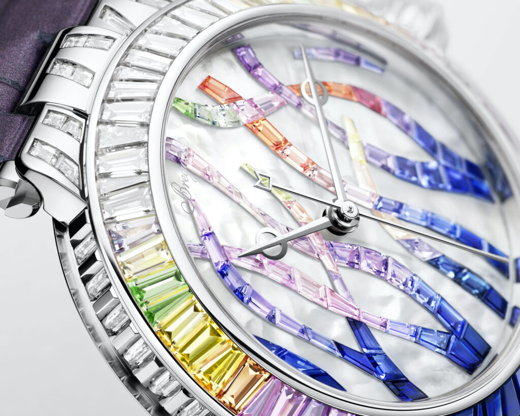 Breguet Marine Haute Joaillerie Poseidonia 9509BB5S984SD0S Cars and Watches for Ladies Mia Litström