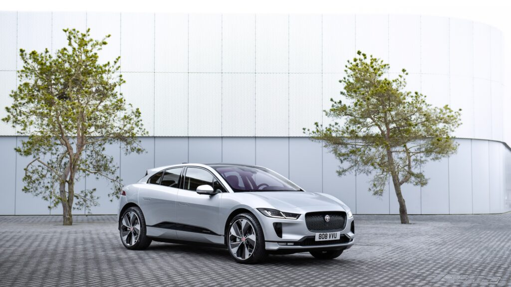 Jaguar I-PACE Cars and Watches for Ladies Mia Litström