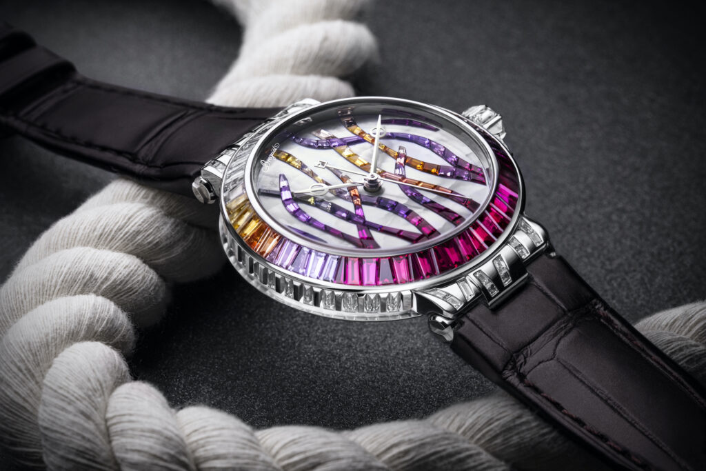 Breguet Marine Haute Joaillerie 9509BB 5R 984 RD0R Cars and Watches for Ladies Mia Litström