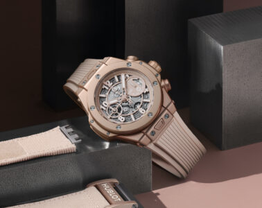 Hublot Big Bang Millennial Pink Mia Litström Cars and Watches for Ladies