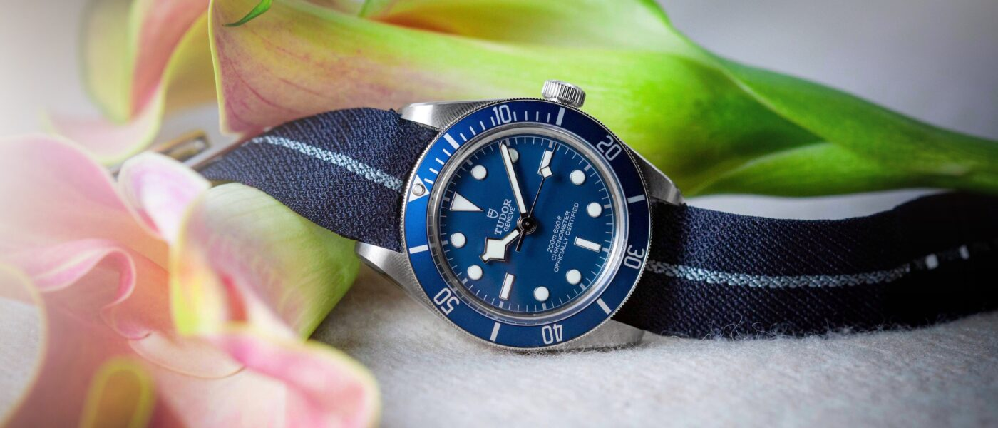 Tudor Black-Bay Fifty-Eight Navy Blue Mia Litström Cars and Watches for Ladies