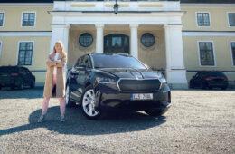 Provkörning Skoda Enyaq iV Mia Litström Cars and Watches for Ladies