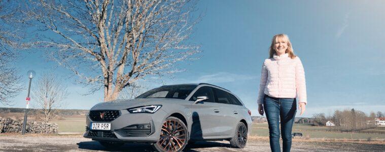 Mia Litström provkörning Cupra Leon Sportstourer e-Hybrid Cars and Watches for Ladies