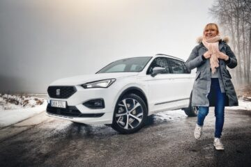 Provkörning Seat Tarraco e-Hybrid Mia Litström Cars and Watches for Ladies