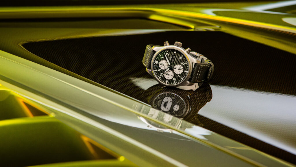 IWC Mercedes-AMG Pilot´s Watch Chronograph Mia Litström Cars and Watches for Ladies
