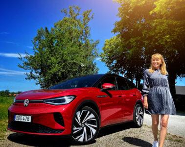 Volkswagen GTX provkörning Mia Litström Cars and Watches for Ladies