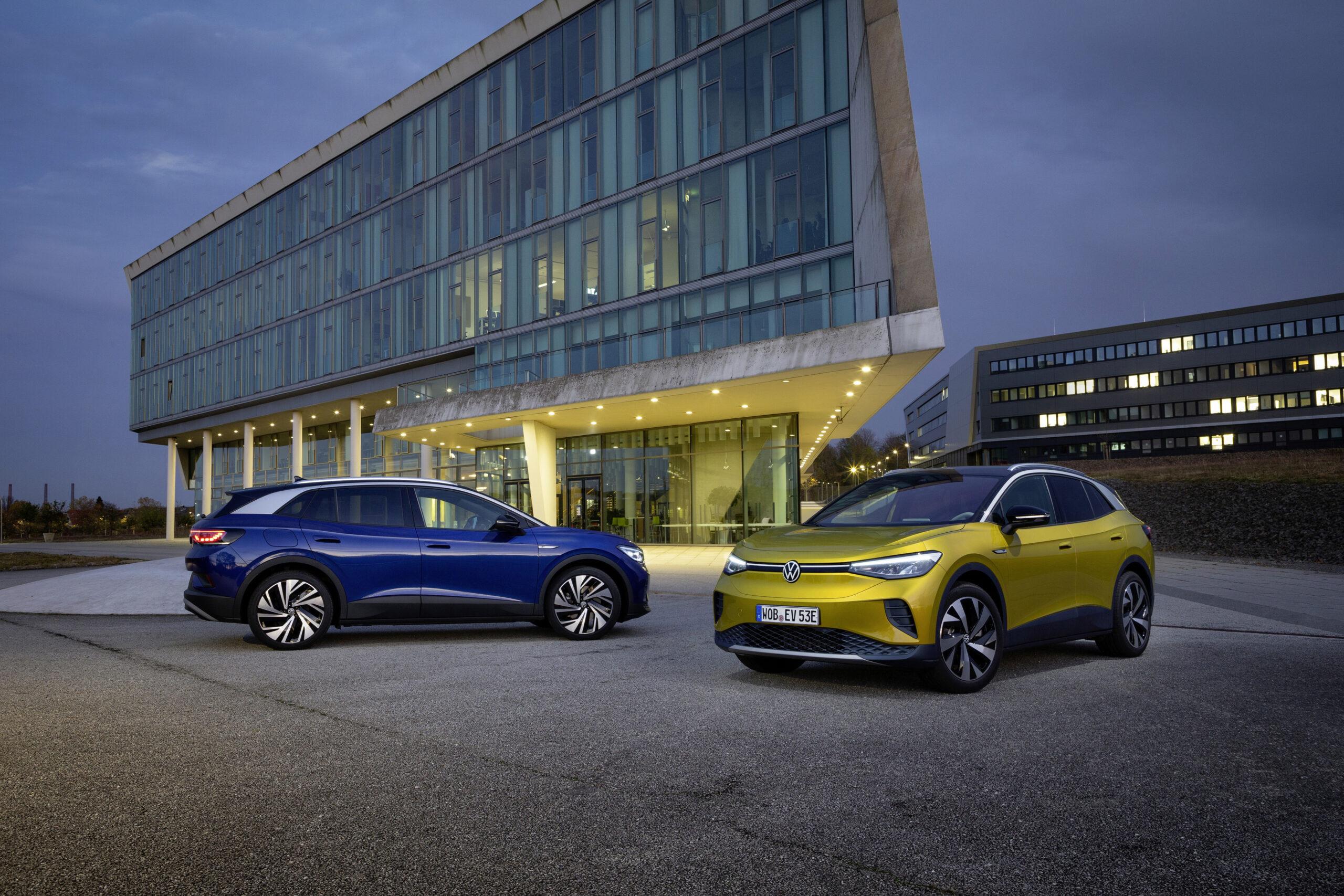 ID.4 Volkswagen Over-the-air-uppdatering
